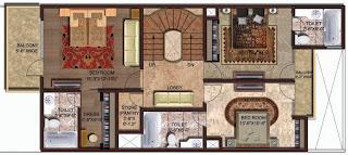Amrapali Leisure Valley :: Floor Plan