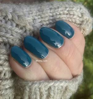 HJ Manicure Blue Lagoon