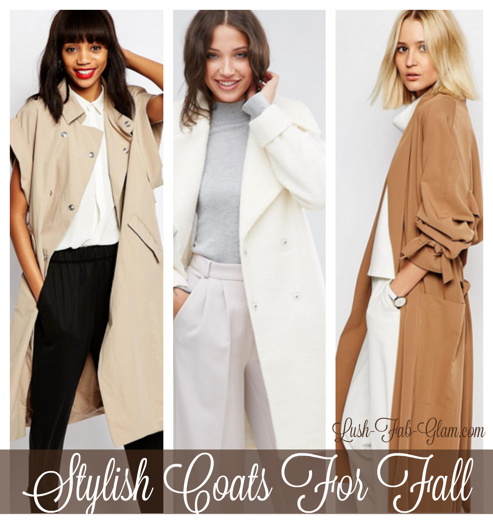 Uber-Chic + Stylish coats to take you from the office to fall holiday parties.