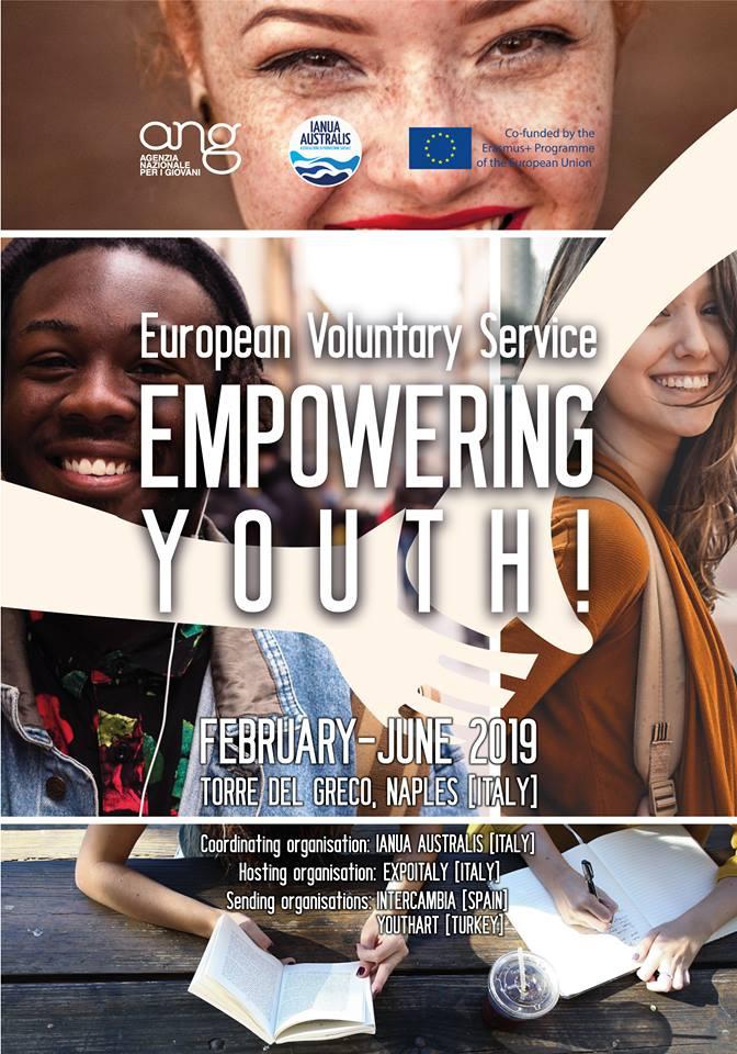 Il nostro progetto Corpo Europeo di Solidarietà - 2019