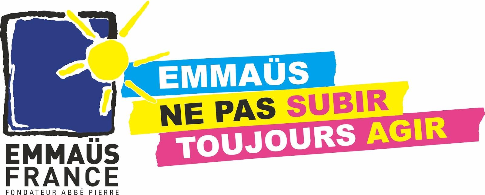 """Résultat de recherche d'images pour """"Emmaus france logo"""""""
