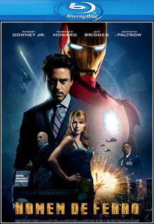 Homem de Ferro BluRay 1080p Dual Áudio Capa