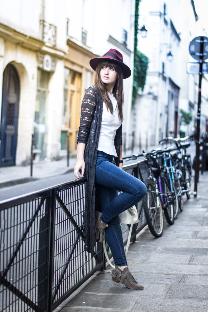 Chic, Blogger, Paris, Streetstyle, Look, Fashion, Hat Style