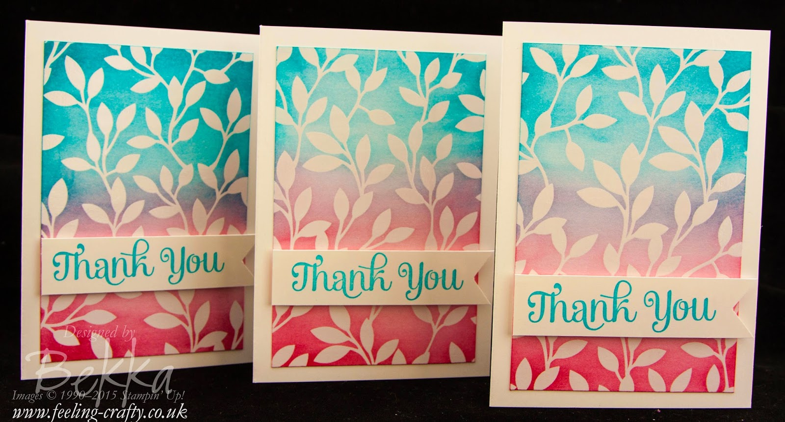Thank You Card - check out this blog for lots of great ideas