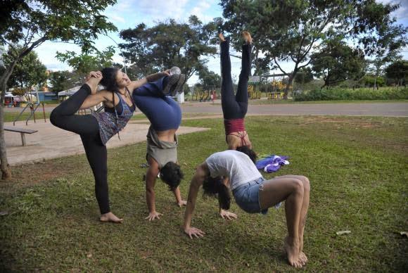 Pesquisa do IBGE diz que 46% dos brasileiros são sedentários (Foto: Arquivo/ Agência Brasil)