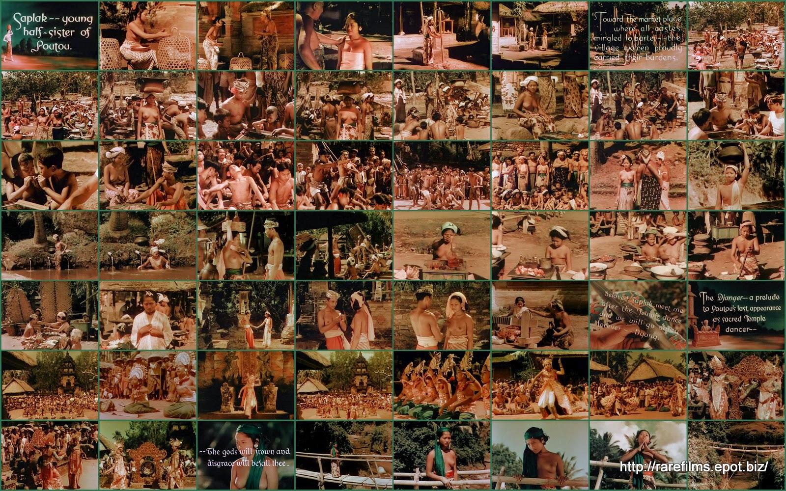 Легонг: Танец девственниц / Legong Dance of the Virgins.