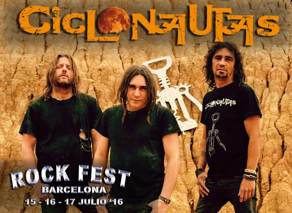 CICLONAUTAS EN ROCK FEST