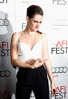 Kristen Stewart bad ass pose on the red carpet
