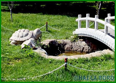 statuie broasca testoasa parc lumea copiilor