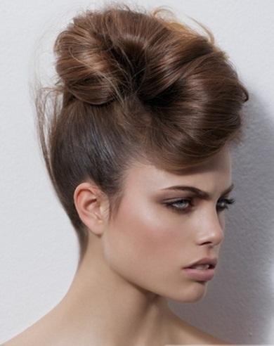 Fabulous Modern Updo Hairstyle