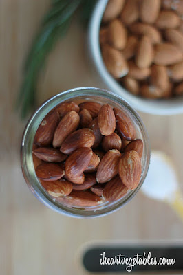 http://iheartvegetables.com/2014/06/18/rosemary-roasted-almonds/