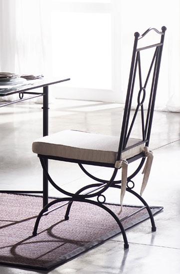 Muebles de forja sillas forja de dise o - Sillas de forja baratas ...