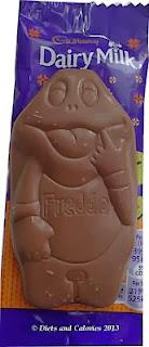 Dairy Milk Freddo Frog popping candy
