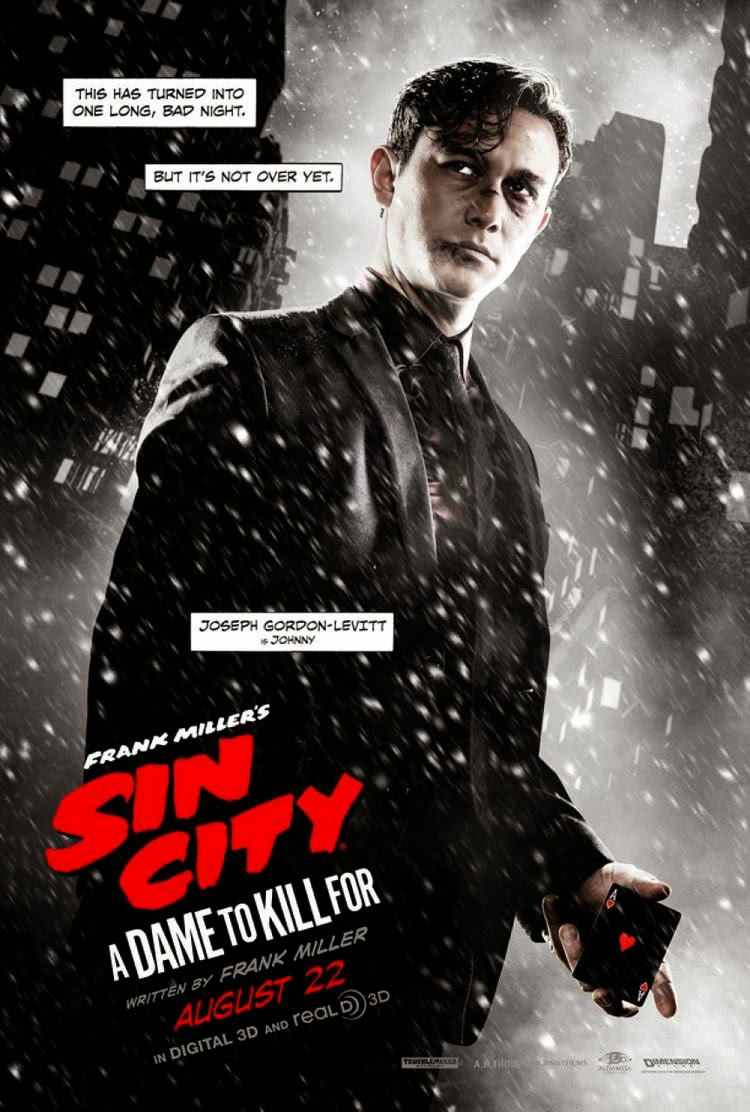 Sin City A Dame To Kill For Joseph Gordon Levitt