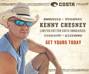 CONTEST: Enter To Win A Pair Of Limited Edition Kenny Chesney Costa Sunglasses
