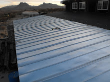 v-crimp metal roofing