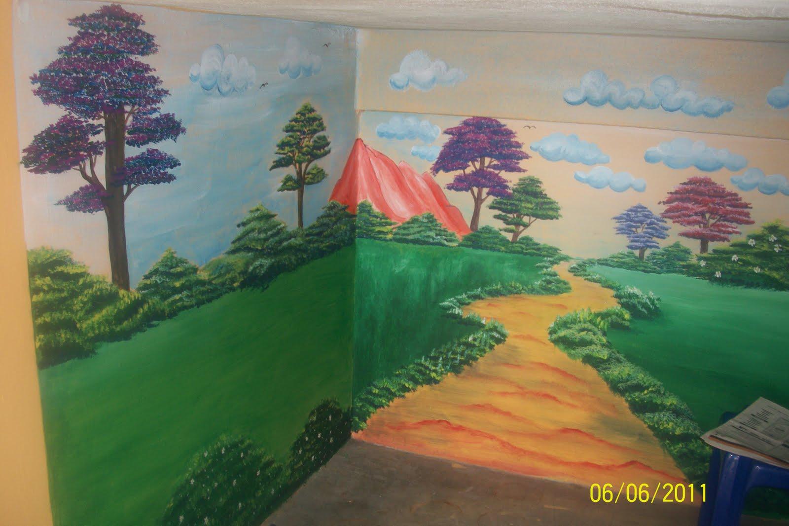 Contoh mural for Mural untuk kanak kanak
