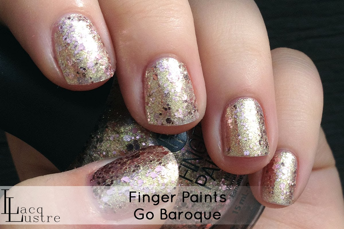 Finger Paints Go Baroque swatch