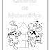 Capinhas Infantis para Cadernos de Matemática