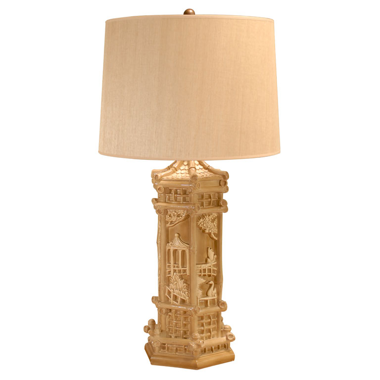 Chinoiserie Chic Pagoda Lamps