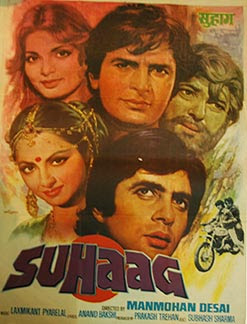 Suhaag 1979 Hindi Movie Watch Online