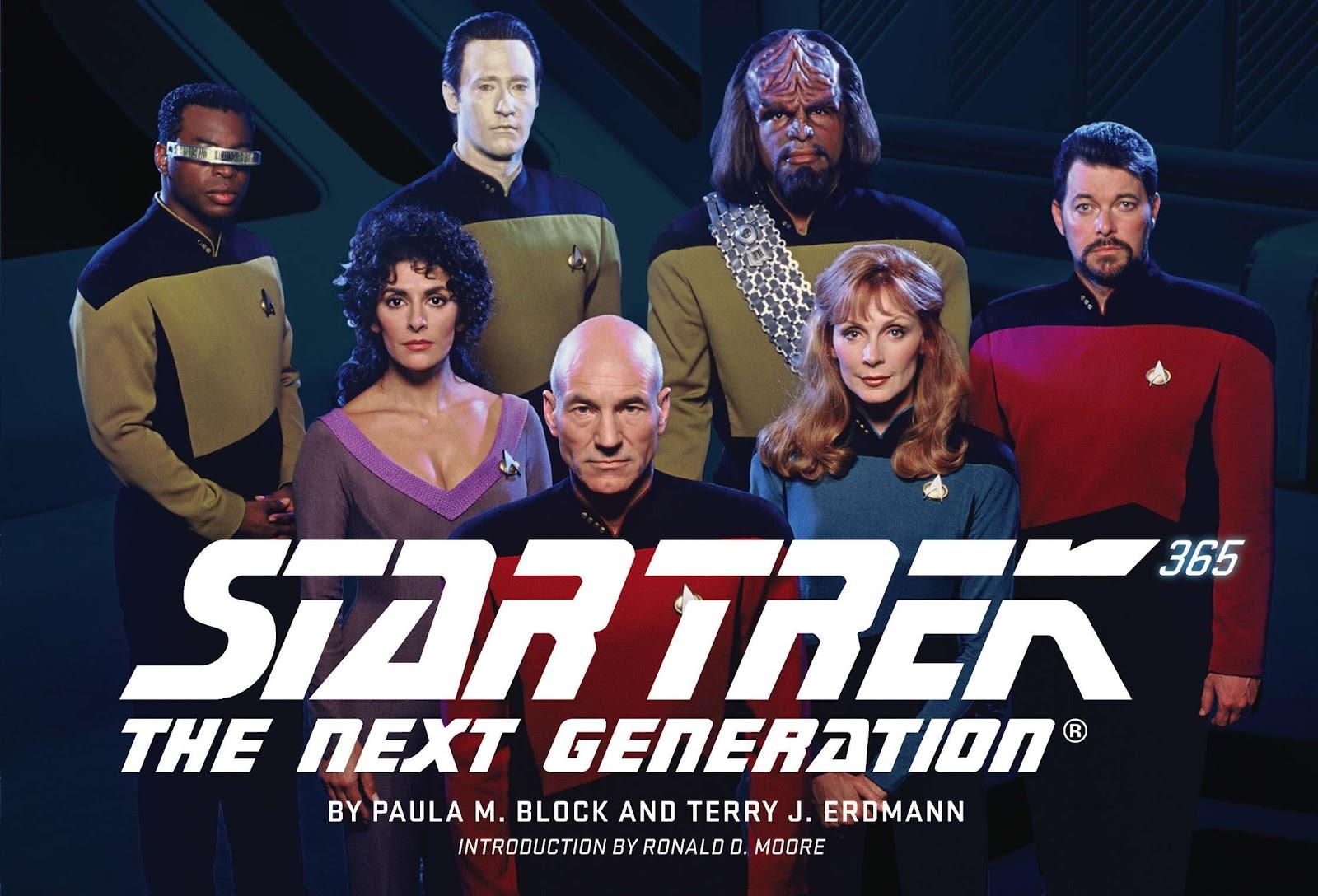 Kool Tv Review: 'star Trek: The Next Generation  365' Book