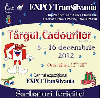 Targ Cadouri decembrie 2012 Cluj