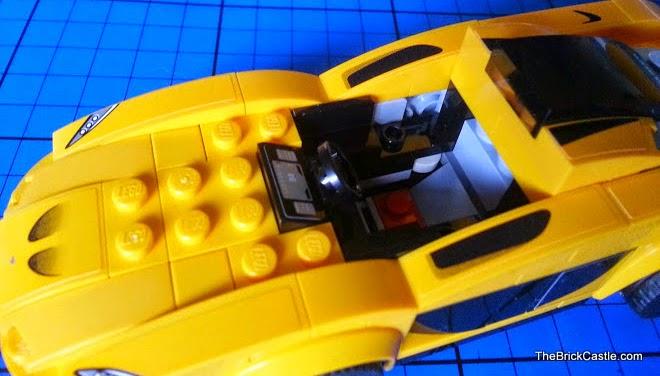 McLaren P1 Hybrid Super Car review in LEGO