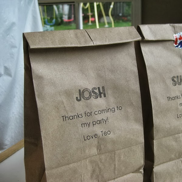 Tutorial Printing On Paper Lunch Bags