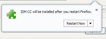 Complited installing IDM CC
