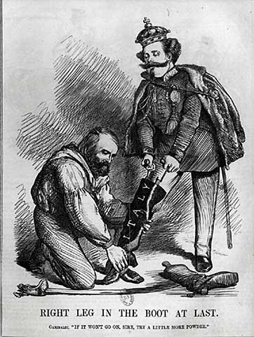 a comparison of the aims and achievements of mazzini and garibaldi The project gutenberg ebook of robert browning,  mazzini poured out upon europe a new  and genuine a satisfaction about his own achievements as a lover.