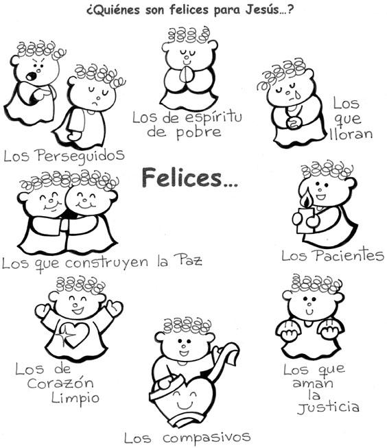 Imagenes de las bienaventuranzas para niños - Imagui