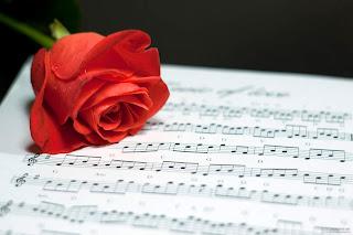 rosa y musica