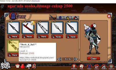 Cheat Ninja Saga Terbaru 2011