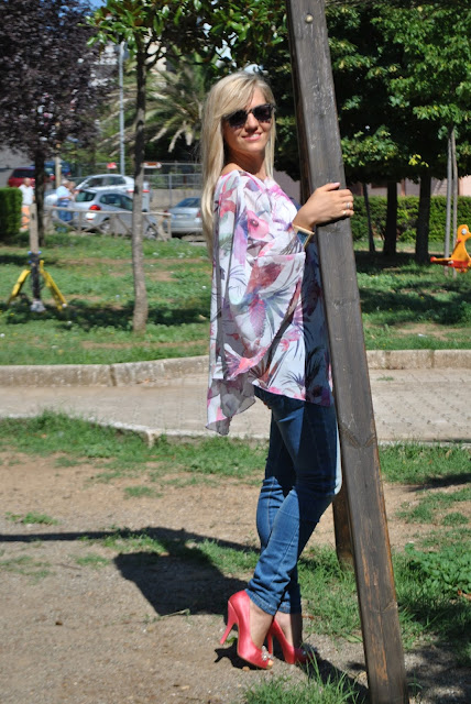 come abbinare jeans e tacchi abbinamenti jeans skinny come abbinare i jeans skinny outfit settembre 2015 outfit estivi jeans e camicia mariafelicia magno fashion blogger colorblock by felym fashion blog italiani fashion blogger italiane blogger di moda blog di moda ragazze bionde blonde girls blonde hair blondie jeans and heels how to wear jeans and heels skinny jeans outfit summer outfit outfit ideas look of the day