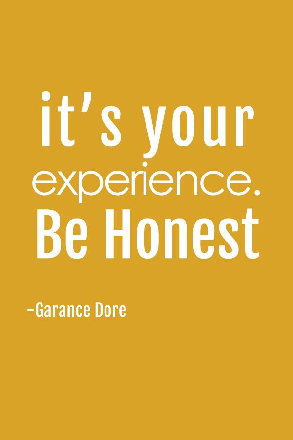 Garance Dore Quote
