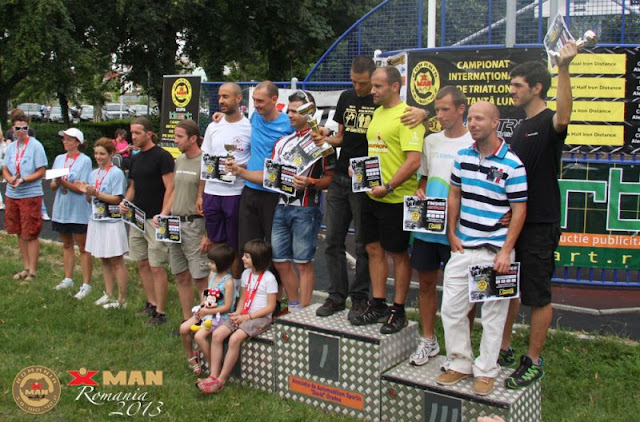 IronMan Oradea 2013 podium