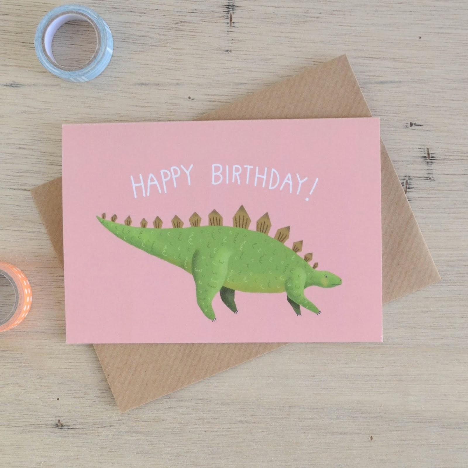http://folksy.com/items/5725571-Stegosaurus-Birthday-Card
