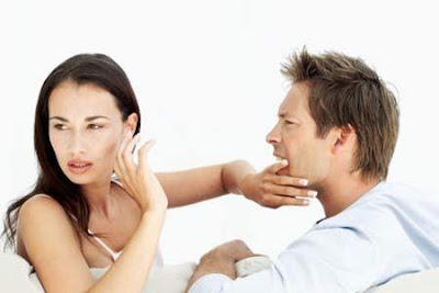Ways To Control Emotions In A Relationship - angry man guy - couple fighting