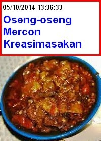 Oseng-oseng Daging Mercon Super Pedas