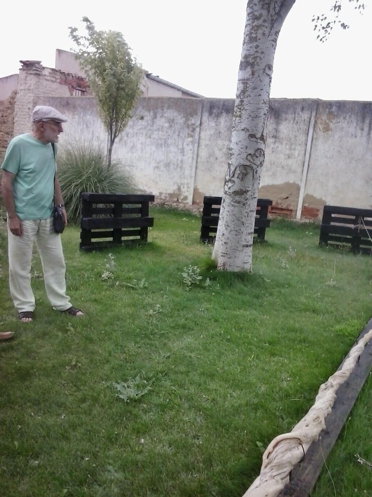 Adolfo Revuelta en Autilla del Pino