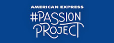 Winner of $2,000 from the American Express #PassionProject (Jan 2014)
