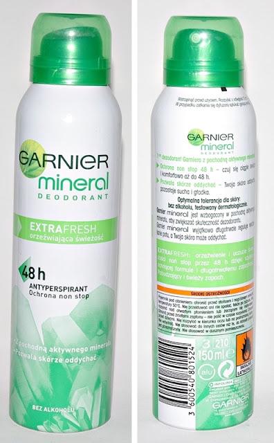 Dezodorant Garnier Mineral ExtraFresh