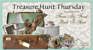 Treasure Hunt Thursday- Weekly Blog Link Up Party-From My Front Porch To Yours