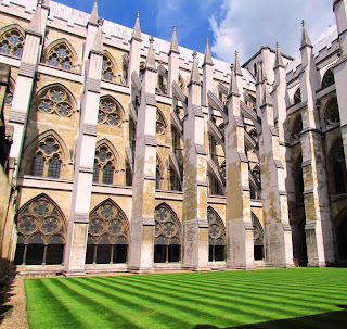cloisters, Westminster Abbey, London, English Heritage, London, visit