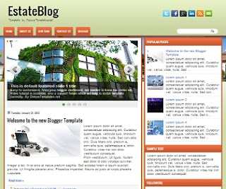 EstateBlog+Blogger+Template