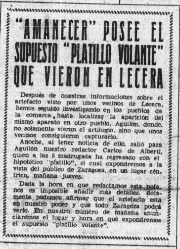 diario Amanecer dic 1954