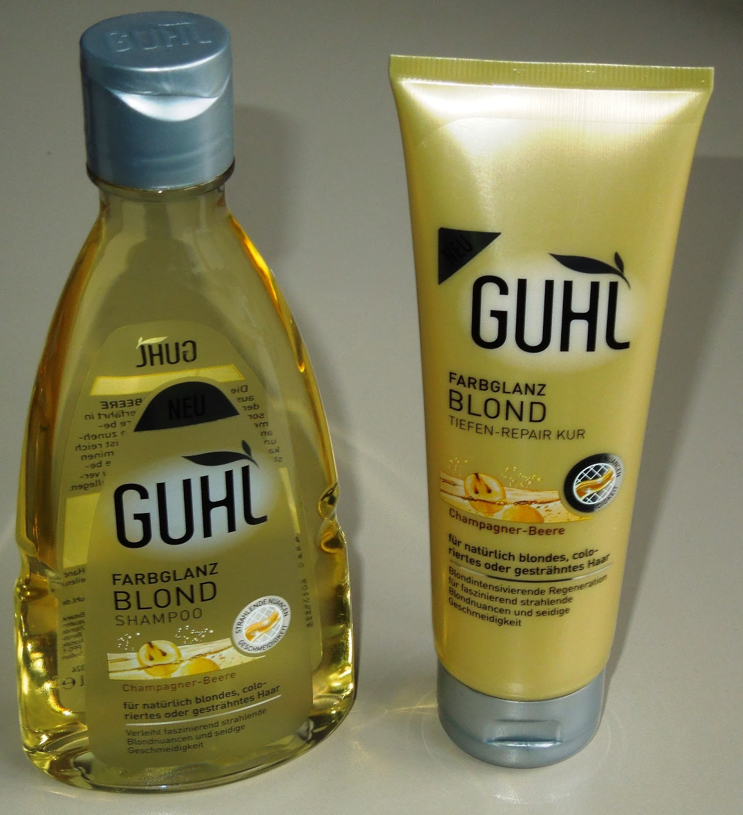 Guhl shampoo blondes haar