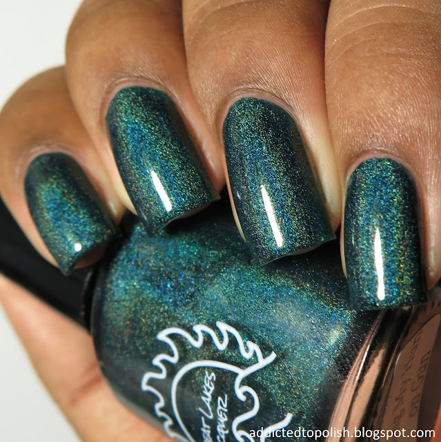 great lakes lacquer kissing my hun on gun august limited edition