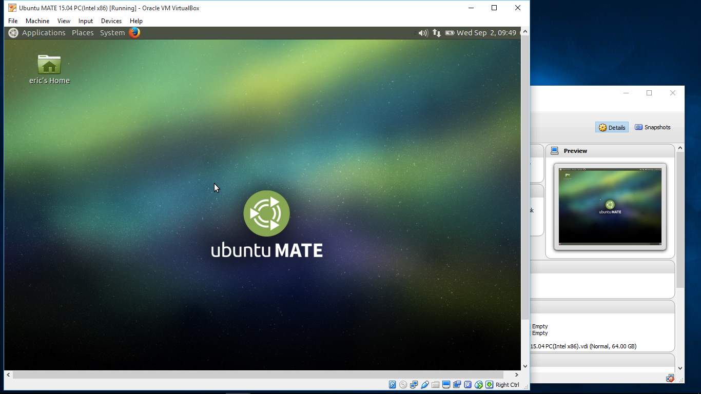 android er install ubuntu mate 15 04 on windows 10 virtualbox